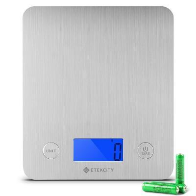ETEKCITY EK6211-S Báscula Digital para Cocina 5 kg