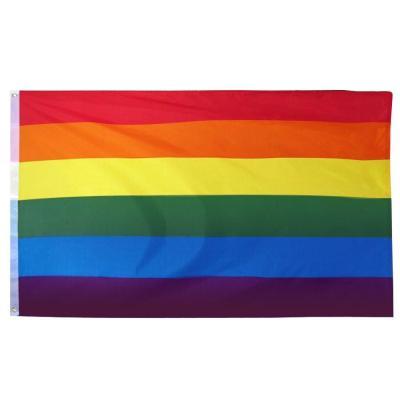 TRIXES Gran Bandera Interior Exterior 5 pies x 3 pies LGBT