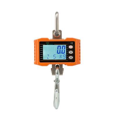 Hyindoor 500 kg Báscula Digital Industrial con Gancho Resistente Escala de Grúa Electrónica