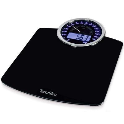 Terraillon GP3000-13737 Báscula personal electrónica Rectángulo Negro