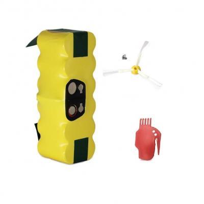 Gpisen 3800mah Batería De Repuesto Con 1 Cepillo Lateral Para Irobot Roomba