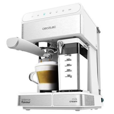 Cecotec Power Instant-ccino Touch Serie Bianca Cafetera Semiautomática