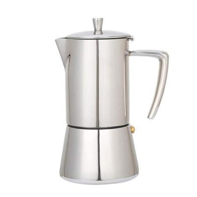 DuDuDu Acero Inoxidable Coffee Pot Moka cafetera Tetera Mocha Estufa Herramienta Filtro Cafetera cafetera percoladora Cocina Demasiado L