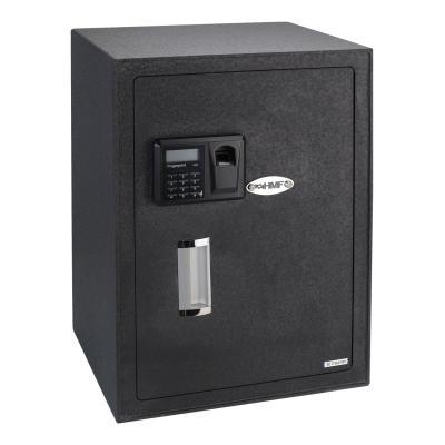 HMF 49125 Caja Fuerte Impresión Dedos Seguridad Electrónica Biométrica