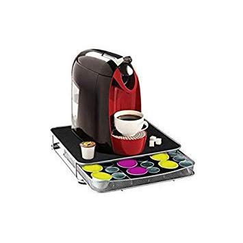 Guilty Gadgets Soporte Para Máquina De Café Con Cajón De Almacenamiento Para Cápsulas Nespresso Dolce Gusto