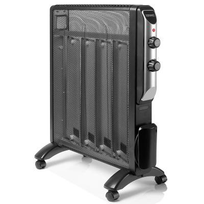 Duronic HV220 Calefactor Radiador Eléctrico Bajo Consumo con Panel de Mica y Termostato