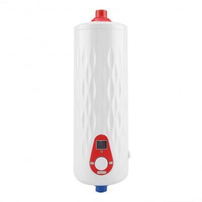 Fdit Socialme-EU Mini Calentador de Agua Eléctrico Instantáneo Sin Tanque 6500W  3000W 220V Temperatura de Agua de Salida Ajustable para Uso Baño Cocina