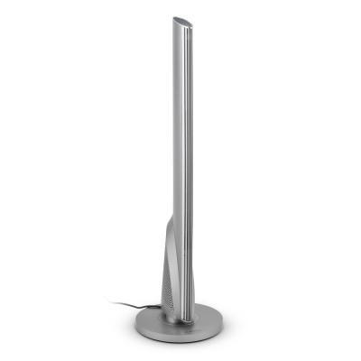 Klarstein Skyscraper Heat Calefactor de Torre termoventilador oscilación 1600 ó 2500 W Temperatura Ajustable gradualmente Temporizador Control Remoto Plata