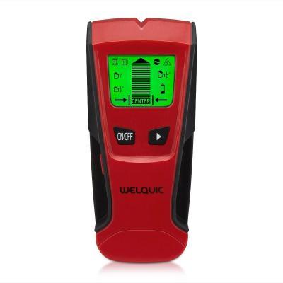 WELQUIC Detector de Pared Encontrar Stud Finder con 3-en-1 Metal AC Alambres Escáner de Madera con Pantalla LCD Retroiluminada