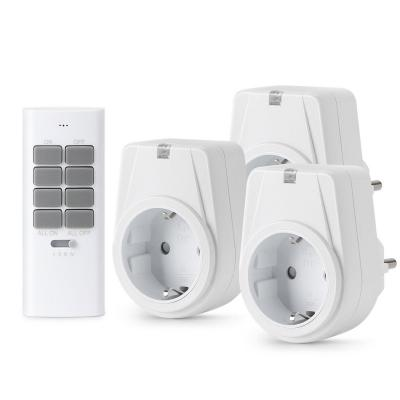 Lunvon 12 Canales Enchufes Inalámbricos Inteligentes con Mando a Distancia con Control Remoto Interruptores a Distancia
