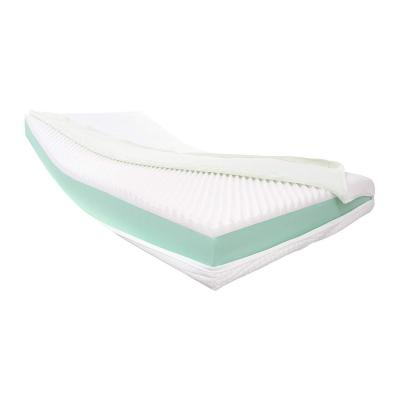 Dibapur Visco Relax: ortopédico visco + colchón de Espuma fría Alta Densidad Selección X Aprox. 16 cm con un núcleo Aloe Vera Aprox. Lisa 16