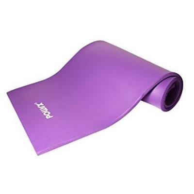 POWRX Gymnastikmatte Yoga und Pilatesmatte