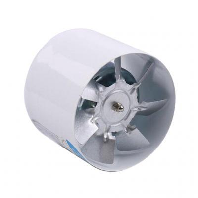 IPOTCH 4inchs Ventilador de Extractor de Aire en Línea Ligero y Silencioso de Energía Baja para Baño Cocina
