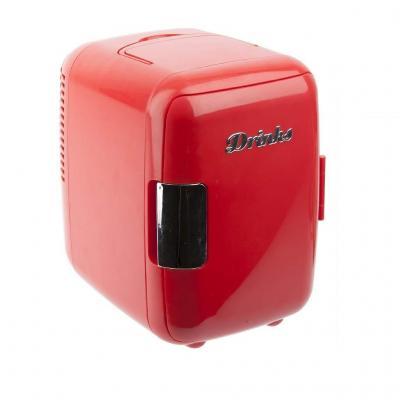Balvi - Drinks Nevera Mini Ideal para latas de refresco. Nevera portátil. Conéctala en casa o en el Coche. Doble función: enfría y calienta. Llévatela en Vacaciones y Fines de Semana