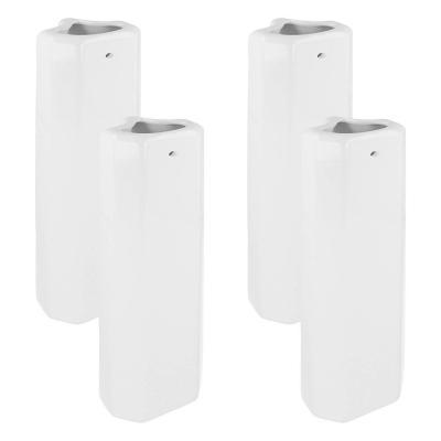 Lantelme 7623 cerámica humidificadores para radiadores para Trapezoidal en 4 Unidades Set  Humidificadores  Humidificador con Gancho de Metal