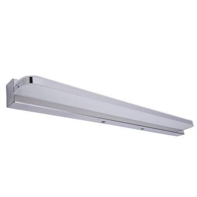 Glighone Luz Baño Lámpara Espejo LED 62cm 14W 850LM 2835SMD 6500k Luz de Maquillaje contra Niebla Impermeable Apliques Pared Ligero Acero Inoxidable para Tocador Probador Cuarto de Baño