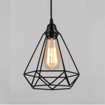 Lámpara colgante Retro Vintage iluminación de techo Iluminación E27 Capacidad AC220  240 V