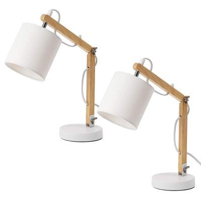 Brubaker Juego De 2 Lámparas De Lectura O De Mesa