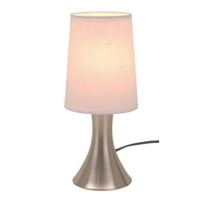 Lámpara de mesa con regulador de intensidad táctil