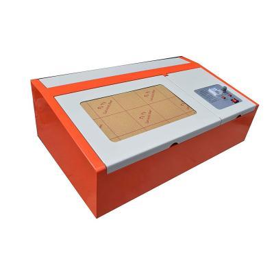 USB Laser de Grabado Eléctrica 40 W CO2 Laser Graveur 300 x Filtro degradado Máquina de corte por láser con Fan de escape Puerto USB