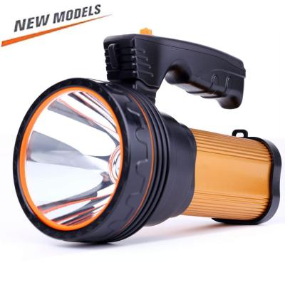 Römer Led Rechargeable Handheld Searchlight High-power Super Bright 9000 Ma 6000 Lumens
