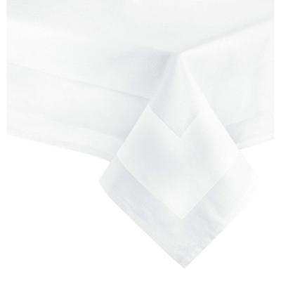 ZOLLNER Mantel Blanco Rectangular de algodón