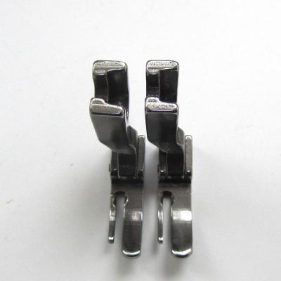 Kunpeng  Máquina de coser Industrial con bisagra izquierda estrecha pie prensatelas  P360  121947h