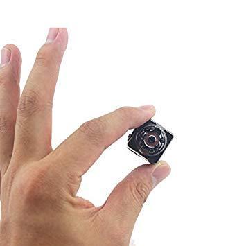 Mini Cámara Oculta Espía HD 1080P Vídeo de Movimiento Detección Videocámara de Bolsillo Nanny Cam para el Hogar  Oficina de Seguridad