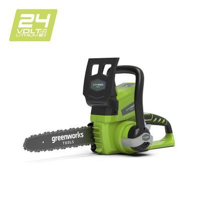 Greenworks Motosierra inalámbrica de 25cm y 24V Li-Ion