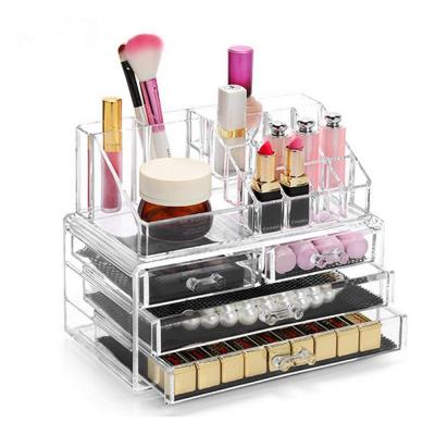 Display4top Caja Acrílica Estante De Maquillaje