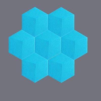 Papel Tapiz Creativo 3d Cubo Pegatinas De Pared