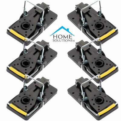 Home Solutions Mouse Trap 6 Pack Kill Mice Catcher