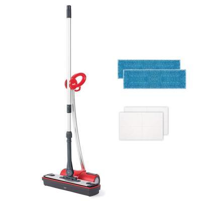 Polti Moppy Limpiador de suelos con vapor sin cables para todo tipo de suelos y superficies verticales lavables