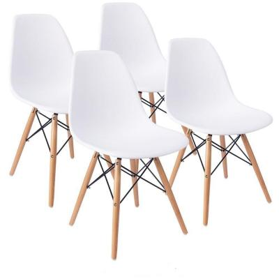 KunstDesign Eames Style Chairs Set de 4