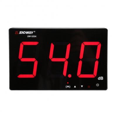 Medidor de Sonido Medidor de Ruido Decibelímetros Portátil Conservar Datos Automáticamente y Alarma