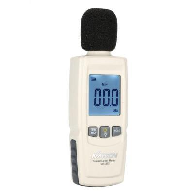 KKmoon LCD Sonómetro Digital Volumen Instrumento de Medición Acústica Medidor Supervisión de Decibelios 30-130dB