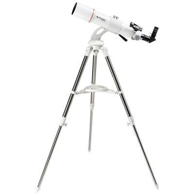 Bresser Messier telescópico AR de 80 640 Nano con trípode Color Blanco