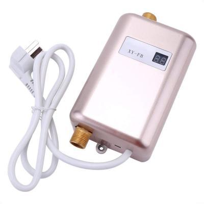 3400W Calentador de agua instantáneo Calentador de agua eléctrico instantáneo sin tanque Calentador de agua eléctrico instantáneo Ducha 3 segundos caliente