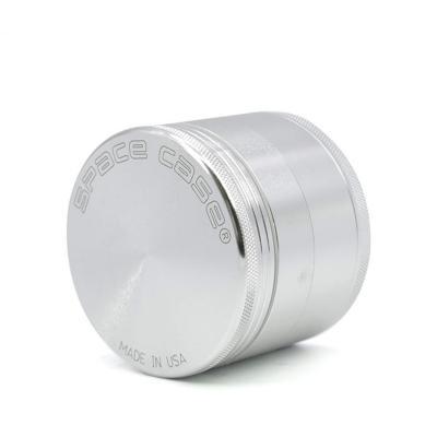 DMMASH 4 Capas de Aluminio Hierbas Hierba de Tabaco Molino de Humo amoladoras de Hierbas Cortador trituradora