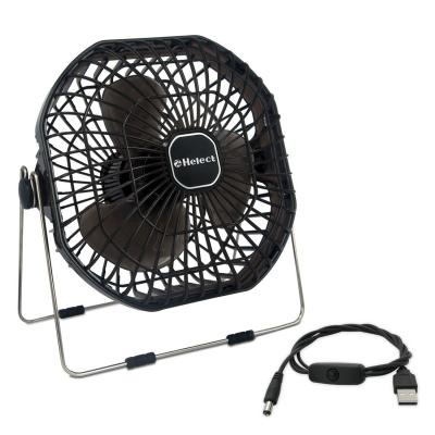 Helect 18cm Mini Ventilador De Mesa